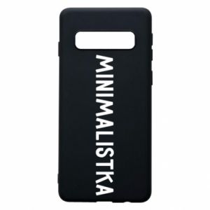 Phone case for Samsung S10 Minimalist - PrintSalon