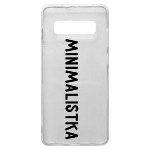 Phone case for Samsung S10+ Minimalist - PrintSalon