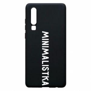 Phone case for Huawei P30 Minimalist - PrintSalon