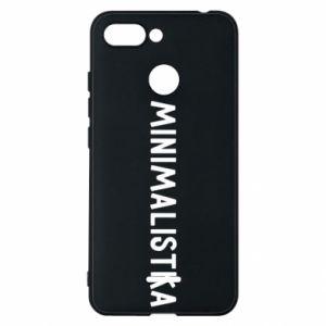 Phone case for Xiaomi Redmi 6 Minimalist - PrintSalon