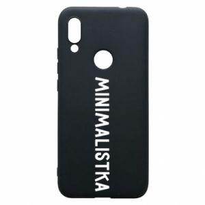 Phone case for Xiaomi Redmi 7 Minimalist - PrintSalon