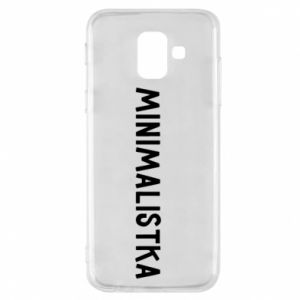 Phone case for Samsung A6 2018 Minimalist - PrintSalon