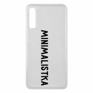 Phone case for Samsung A7 2018 Minimalist - PrintSalon