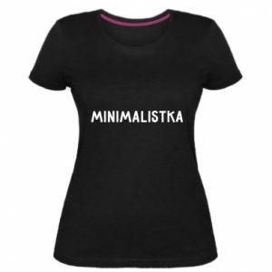 Women's premium t-shirt Minimalist - PrintSalon