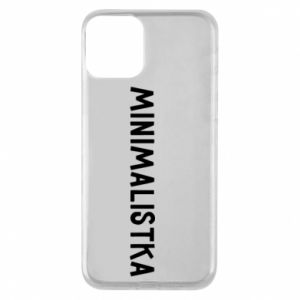 Etui na iPhone 11 Minimalistka