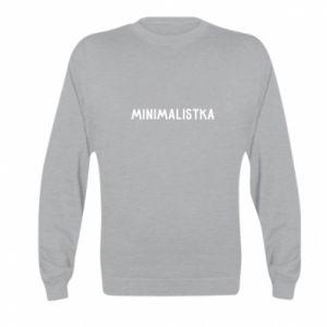 Bluza dziecięca Minimalistka