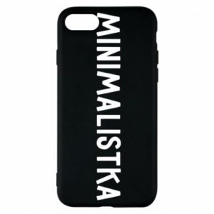Etui na iPhone 7 Minimalistka