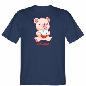 Koszulka męska Miś Polska