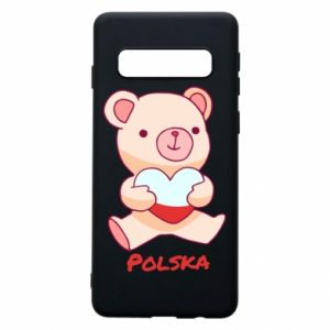 Etui na Samsung S10 Miś Polska