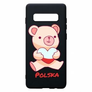 Etui na Samsung S10+ Miś Polska