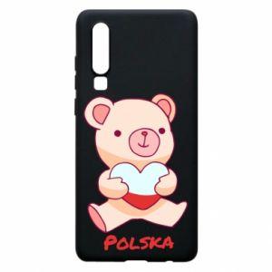 Etui na Huawei P30 Miś Polska