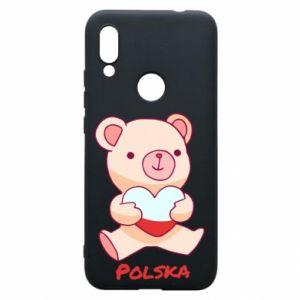 Etui na Xiaomi Redmi 7 Miś Polska