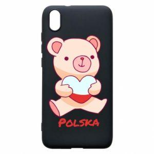 Etui na Xiaomi Redmi 7A Miś Polska
