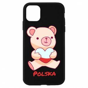 Etui na iPhone 11 Miś Polska