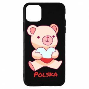 Etui na iPhone 11 Pro Miś Polska