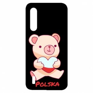 Etui na Xiaomi Mi9 Lite Miś Polska
