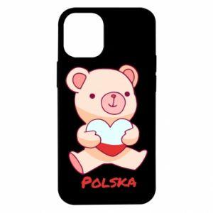 Etui na iPhone 12 Mini Miś Polska