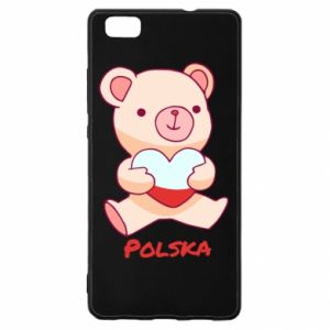 Etui na Huawei P 8 Lite Miś Polska