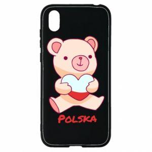 Etui na Huawei Y5 2019 Miś Polska