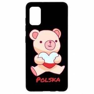 Etui na Samsung A41 Miś Polska