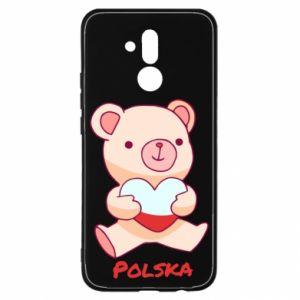 Etui na Huawei Mate 20 Lite Miś Polska