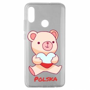 Etui na Huawei Honor 10 Lite Miś Polska