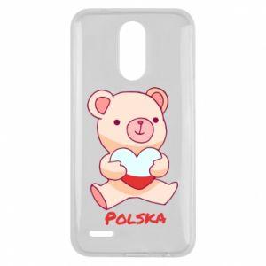 Etui na Lg K10 2017 Miś Polska