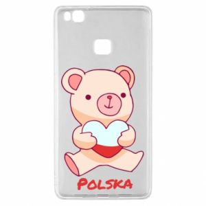Etui na Huawei P9 Lite Miś Polska