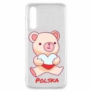 Etui na Huawei P20 Pro Miś Polska