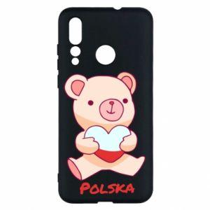 Etui na Huawei Nova 4 Miś Polska