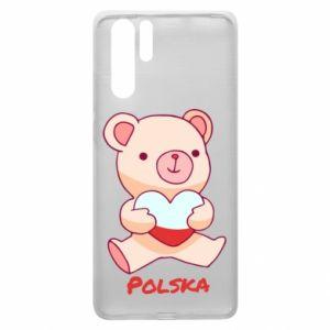 Etui na Huawei P30 Pro Miś Polska