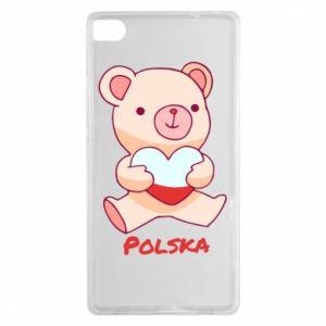 Etui na Huawei P8 Miś Polska
