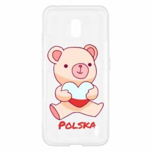 Etui na Nokia 2.2 Miś Polska