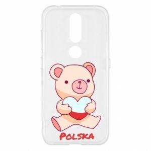 Etui na Nokia 4.2 Miś Polska