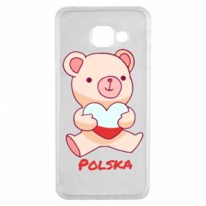 Etui na Samsung A3 2016 Miś Polska