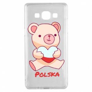 Etui na Samsung A5 2015 Miś Polska