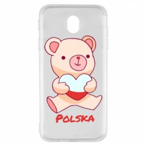 Etui na Samsung J7 2017 Miś Polska
