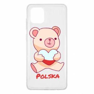 Etui na Samsung Note 10 Lite Miś Polska