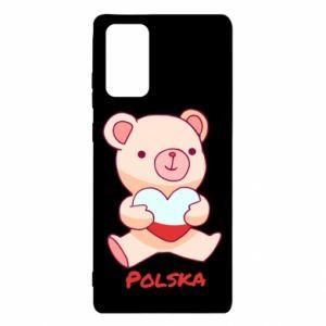 Etui na Samsung Note 20 Miś Polska