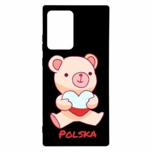 Etui na Samsung Note 20 Ultra Miś Polska