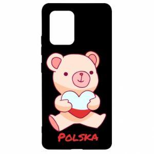 Etui na Samsung S10 Lite Miś Polska