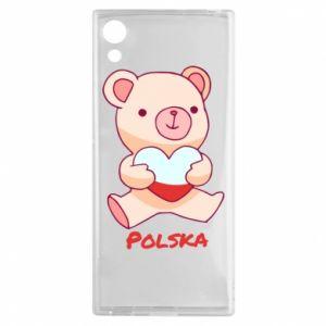 Etui na Sony Xperia XA1 Miś Polska