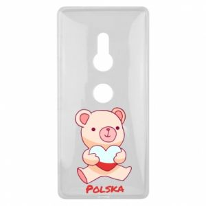 Etui na Sony Xperia XZ2 Miś Polska