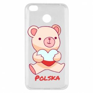 Etui na Xiaomi Redmi 4X Miś Polska