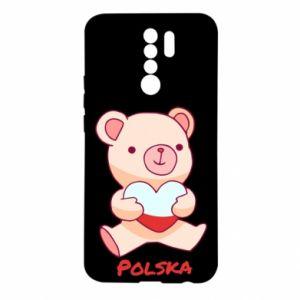 Etui na Xiaomi Redmi 9 Miś Polska