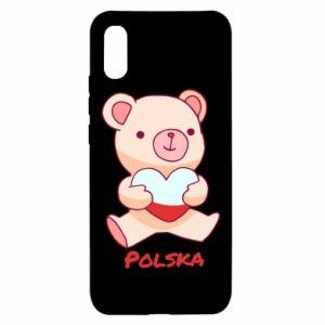 Etui na Xiaomi Redmi 9a Miś Polska