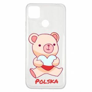 Etui na Xiaomi Redmi 9c Miś Polska