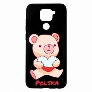 Etui na Xiaomi Redmi Note 9/Redmi 10X Miś Polska