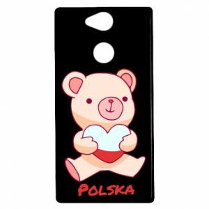 Etui na Sony Xperia XA2 Miś Polska