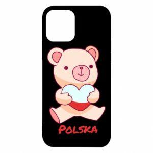 Etui na iPhone 12/12 Pro Miś Polska